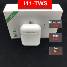 i11 i7s TWS Wireless Bluetooth earphone Wireless Headsets Earbuds Bluetooth 5.0 For huawei xiaomi iPhone earphones(China)