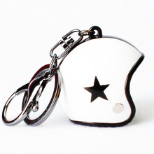 Fashion Motorcycle Helmets Key chain - Hot Sale Cute Safety Helmet Knight Hat Car Keychain for men and women wholesale safety helmet hard hat work cap abs insulation material with phosphor stripe construction site insulating protect helmets