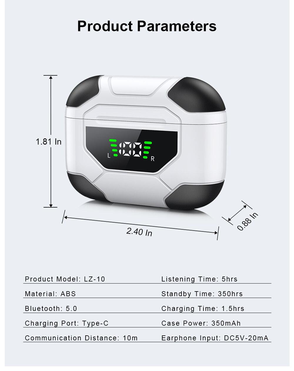 esporte com display digital caso carregamento LZ-10