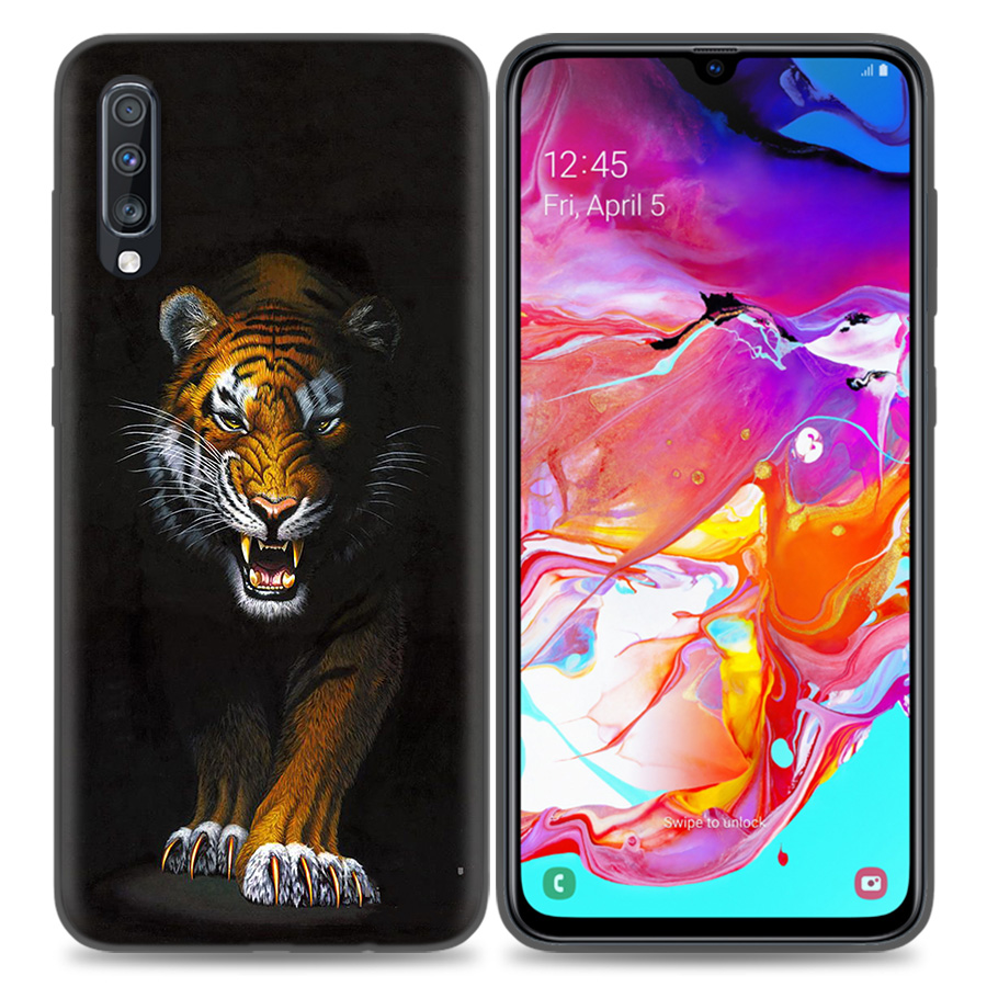 Image 3 - Silicone Case Cover For Samsung Galaxy A50 A80 A70 A40 A30 A20 A20e A10 A9 A8 A7 A6 Plus 2018 Note 10 9 8 tiger Fashion Lovely A-in Fitted Cases from Cellphones & Telecommunications