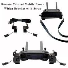 Soporte para teléfono móvil portátil ensanchar clips de soporte extensible para DJI Mavic Mini Pro 1 2 Dron Air Spark mando a distancia