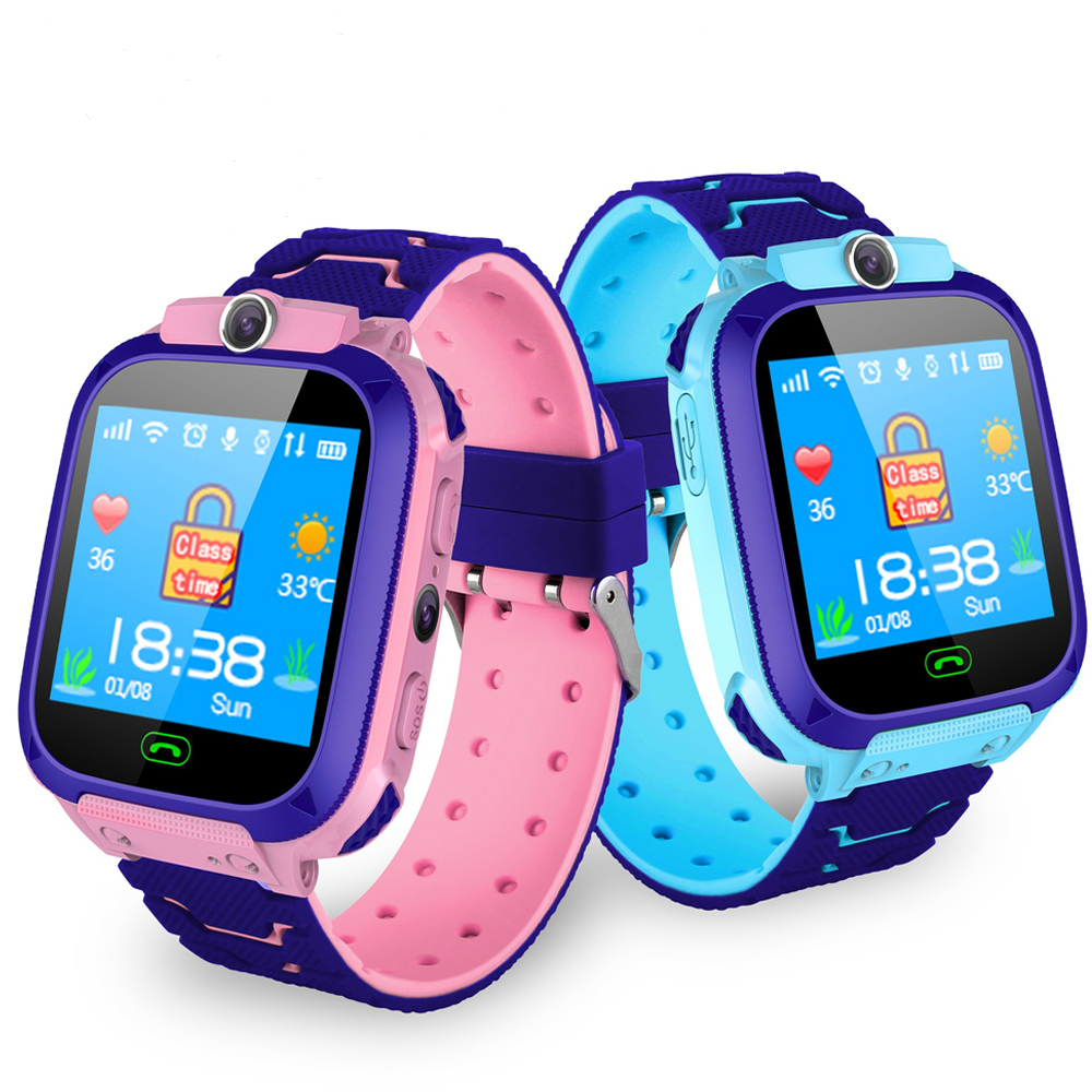 Children Waterproof Multifunction <font><b>Smart</b></font> <font><b>Watch</b></font> SOS <font><b>Kids</b></font> Antil-lost 2G SIM Card Clock Call Location Tracker Camera PK Q50 Q90 <font><b>Q528</b></font> image