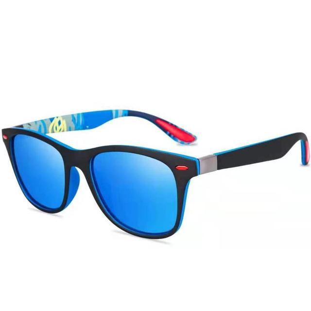 ZXWLYXGX Classic Polarized Sunglasses Men Women Brand Design Driving Square Frame Sun Glasses Male Goggle UV400 Gafas De Sol 4