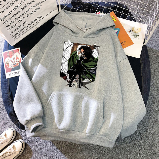 ATTACK ON TITAN THEMED HOODIE (13 VARIAN)