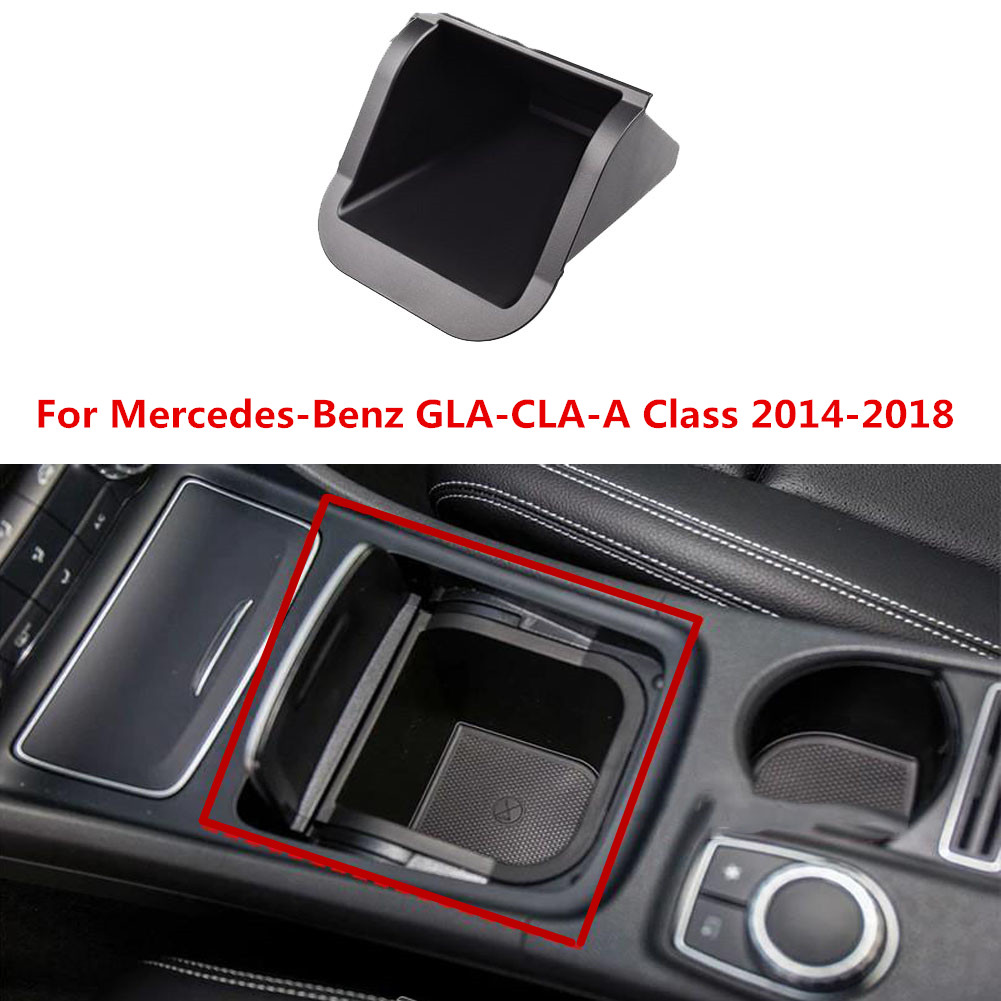 Car Wireless Charger For Mercedes-Benz GLA-CLA-A Class 2014-2018 10W Qi Wireless Charging Wirless Charger Console