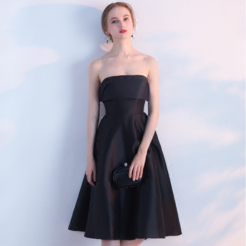 2019 Grace Banquet Evening Dress Long Fund Dress Skinny Graduation Serve Tube Top Small Full Dress Woman