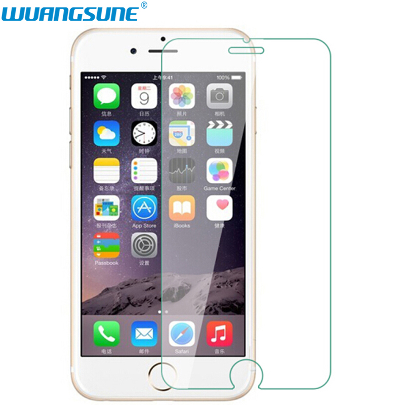 Novo ultra fino hd transparente para iphone 6 6 s 7 8 plus protetor de tela guarda para iphone 11 pro xr x xs max filme de vidro temperado