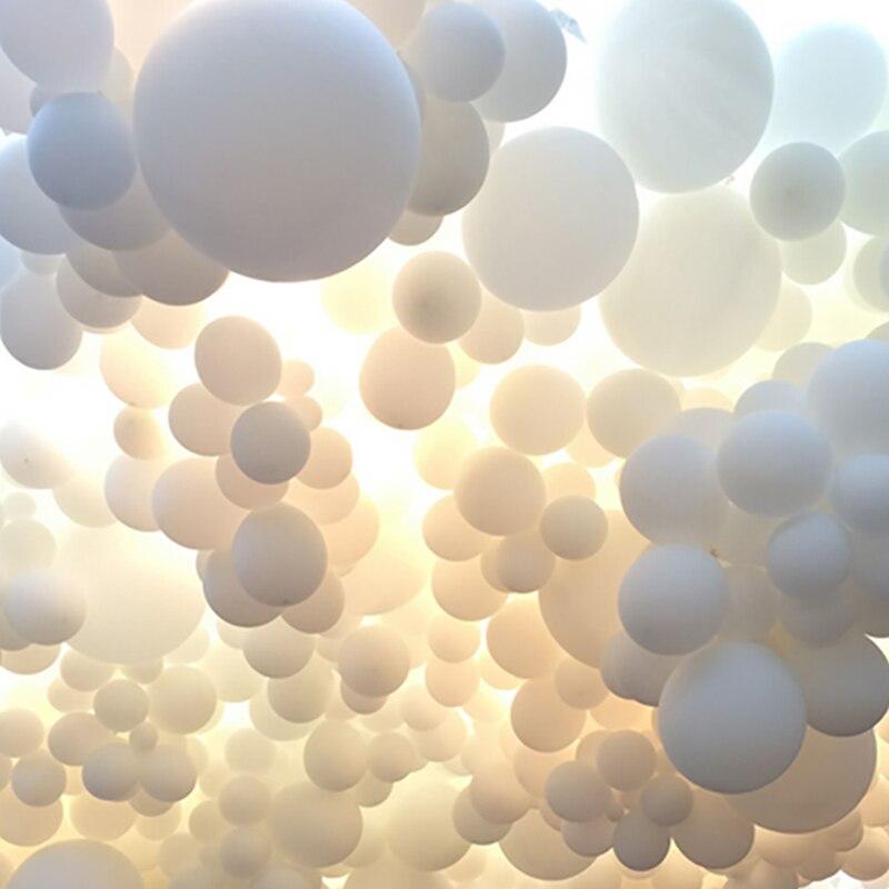 Белые латексные воздушные шары на День святого Валентина, воздушный шар на день рождения, свадебное украшение, надувной Гелиевый шар, детск...