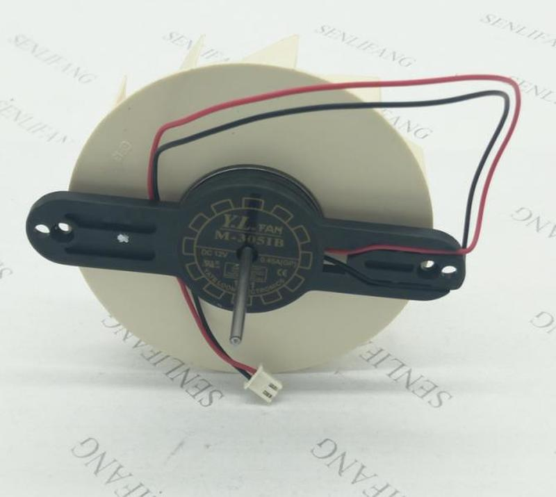 For Cooling Fan 9225 M-3051B 12VDC 0.45A Two-wire Circular DC Fan