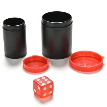 Gorący sprzedawanie 4 9cm * 4cm Talking Dice teleskop lornetki magiczne zabawki słuchać pudełeczko na kości do gry-magiczne rekwizyty magiczne sztuczki zabawki tanie i dobre opinie CN (pochodzenie) Magic Two Rings