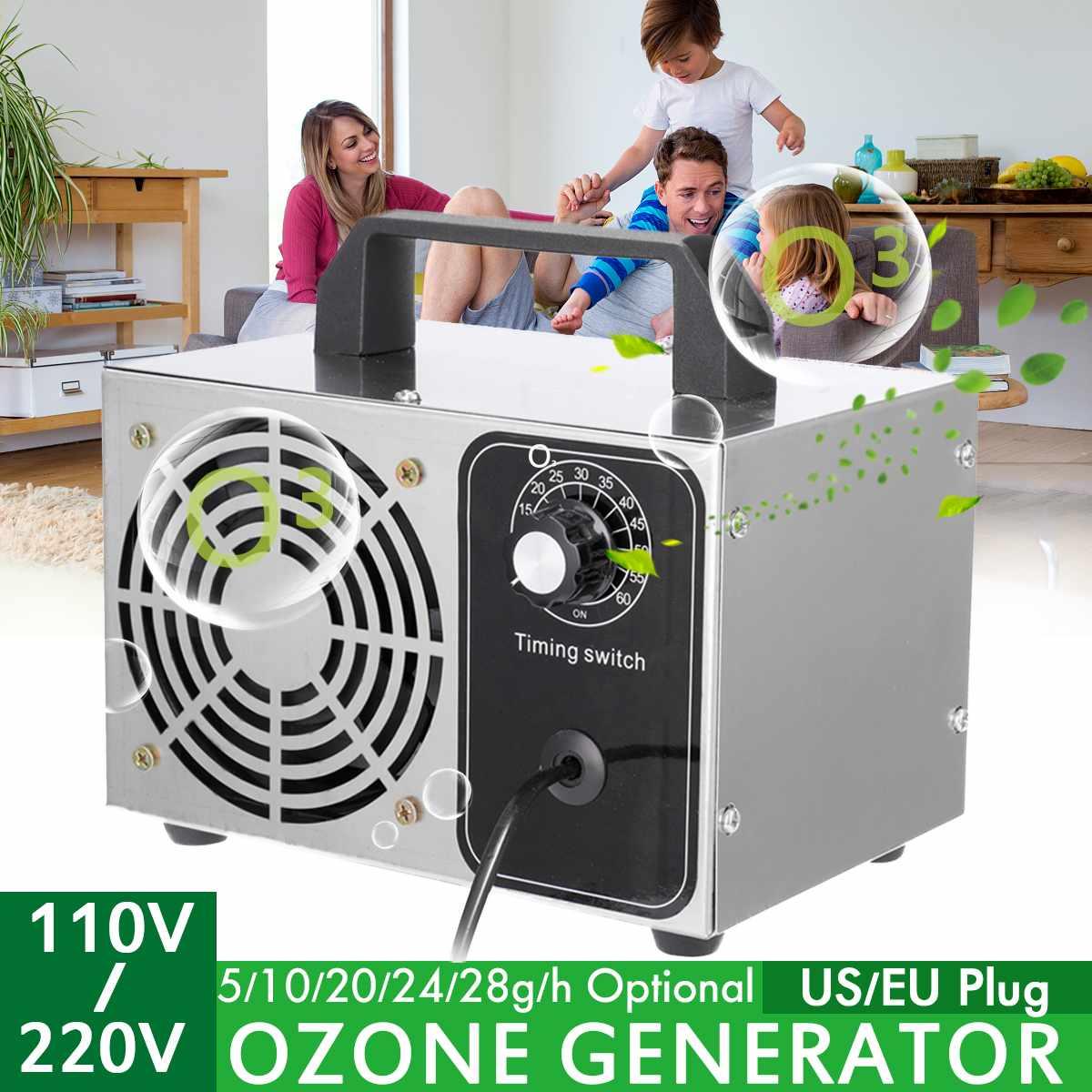 220V/110V 10g/24g/28g Ozone Generator Air Purifier Ozonizador Ozonator Air Cleaner Ozon Generator Ozonizer Sterilization Odo