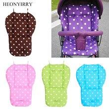 Bebê carrinho de bebê assento de almofada cadeira alta carrinho de bebê macio colchões criança infantil carrinhos almofada de assento do bebê assento de carro acessórios