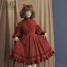 Японское платье лолиты, женское викторианское черное розовое платье, костюм на Хэллоуин, с оборками, ТРАПЕЦИЕВИДНОЕ мягкое милое платье феи для девочек размера плюс 5xl