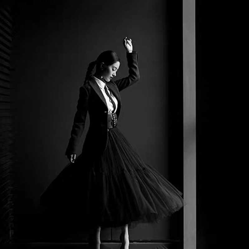 Sottoveste Tutu L Pannello Esterno di Tulle Vintage Midi Gonne A Pieghe Delle Donne Lolita Damigella D'onore di Cerimonia Nuziale gonne Mujer saias jupe