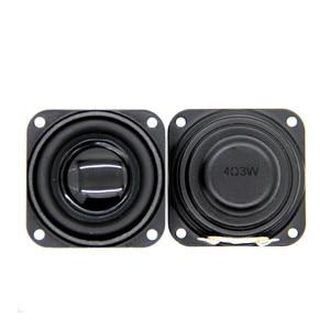 Sotamia 2 pçs woofer áudio 40mm 1.5 Polegada alto-falante baixo 4 ohm 3 w 5 neodímio baixo magnético diy multimídia som música alto-falante
