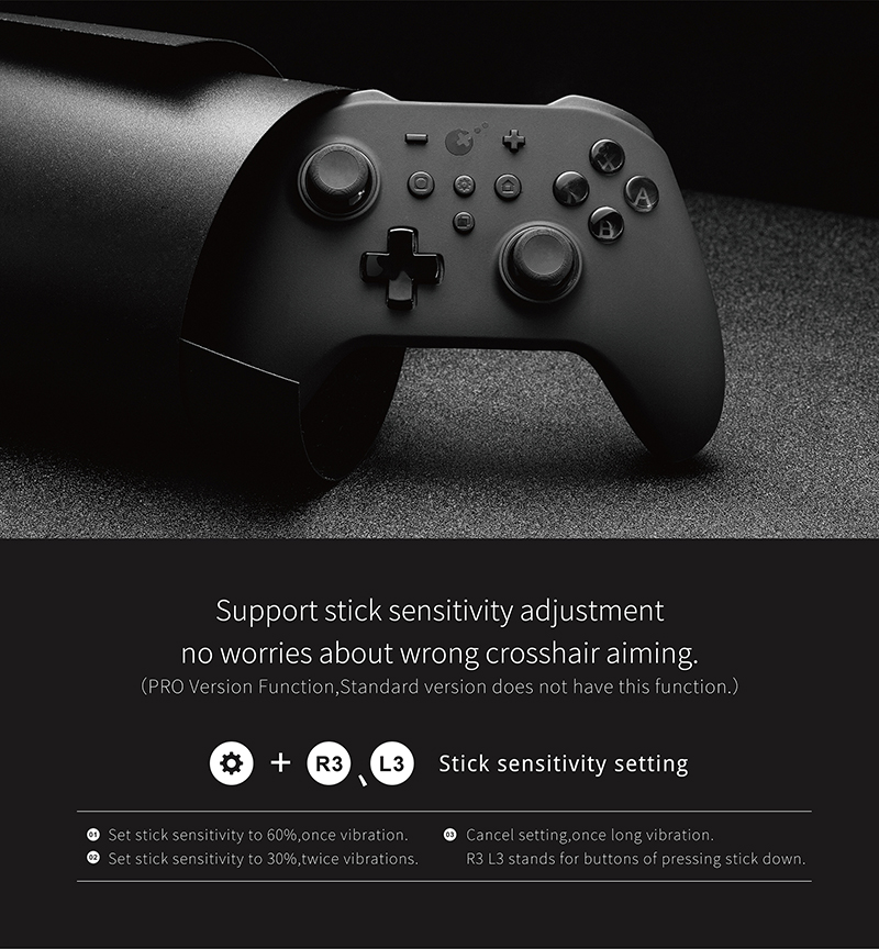 GuliKit Kingkong Pro NS09 Controller Pro Bluetooth Gamepad Gaming For Nintendo Switch Windows PC and Android