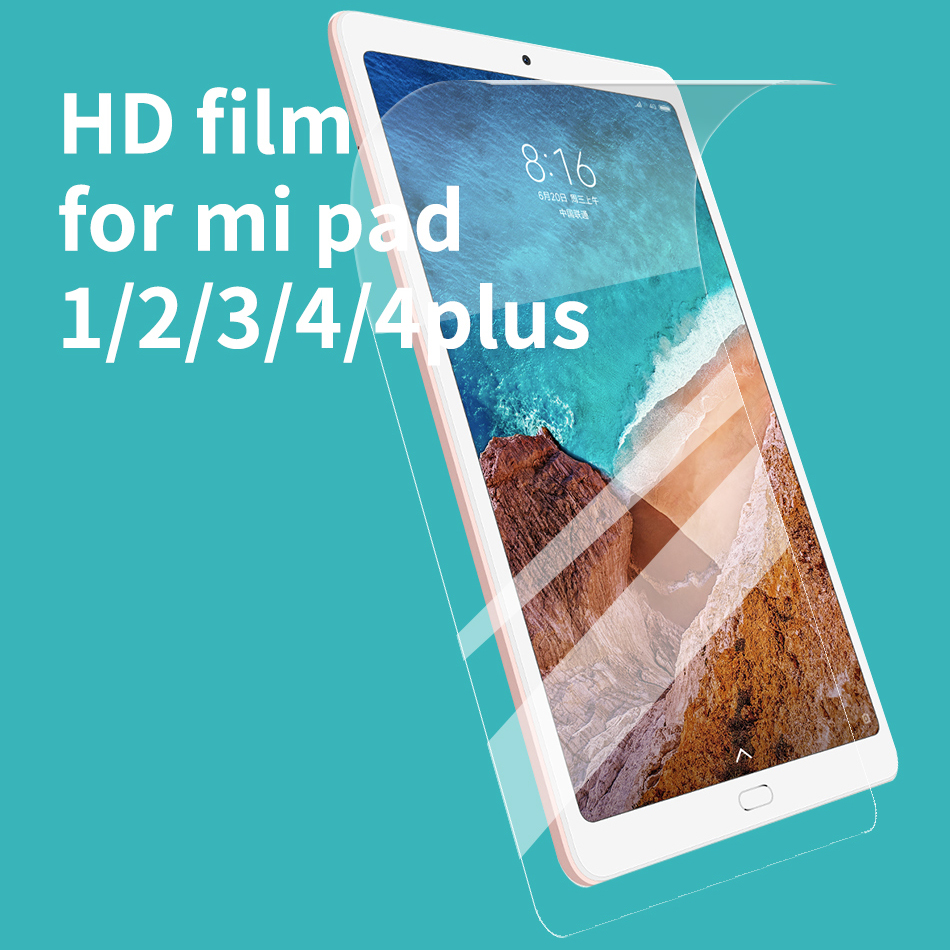 Hydrogel Film For Xiaomi Mi Pad 4 8 Inch Screen Protector For Xiaomi Mi Pad 4 Plus Protective Film For Mi Pad 3 2 1