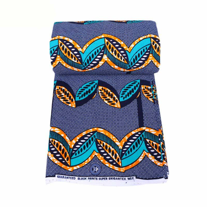 African Fabric 2019 New Design 100% Cotton Print Fabric Nigeria Anraka Veritable Real Dutch Wax