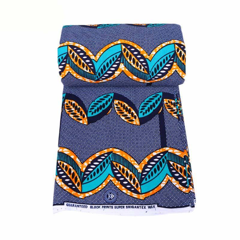 African Fabric 2019 New Design 100% Cotton Print Fabric Nigeria Anraka Veritable Real Dutch Wax
