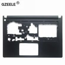 Gzeele novo para lenovo ideapad s400 s405 s410 s415 superior palmrest caso preto ap0sb000100 teclado moldura capa casa