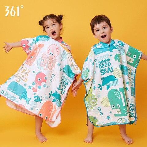 Toalha de Microfibra Infantil de Secagem Toalha para Natação Roupão de Banho Absorvente com Capuz para Meninos e Meninas Rápida Ultra 361