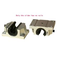 TBR linear sliding unit Standard / extended box flange opening slider TBR16/20/25/30UU/LUU
