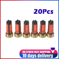 20 Pieces 14*6*3mm High quality Car Petrol Fuel Injector Micro Filter For Mitsubishi Auto Sapre Parts Accessories MD619962