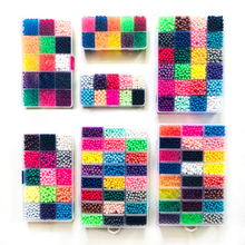 DOLLRYGA 6000 pcs DIY Magic beads Animal Molds Hand Making 3D Puzzle Kids Educational beads Toys for Children Spell Replenish