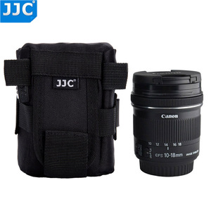 Image 2 - JJC DLP 1 Lens Pouch Nylon Deluxe Case Water resistant Protector Bag For Nikon AF S Nikkor 50mm 1:1.8G/Fujifilm XF 23mm f/1.4 R