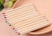 12 colori piccola matita pittura penna colore piombo matita ufficio cancelleria scrittura pittura per studenti nuove matite colorate in legno