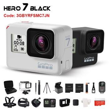 Originale Gopro Hero 7 Nero (Edizione Limitata Crepuscolo Bianco) macchina Fotografica di Azione 4K 60fps Go Pro Hero 7 Sport Cam 12MP Foto in Diretta Streaming