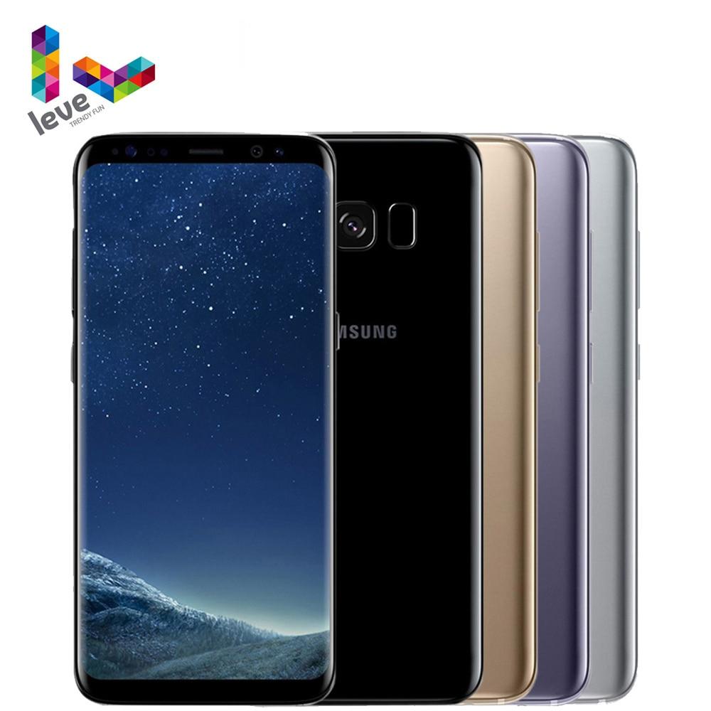 Разблокированный Samsung Galaxy S8 плюс S8 + Snapdragon 835 мобильный телефон 6,2