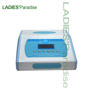 Image 2 - Professionalที่มีประสิทธิภาพUltrasonic Facial Skin Scrubber Ion Deep FaceทำความสะอาดPeeling Beauty Care Instrument