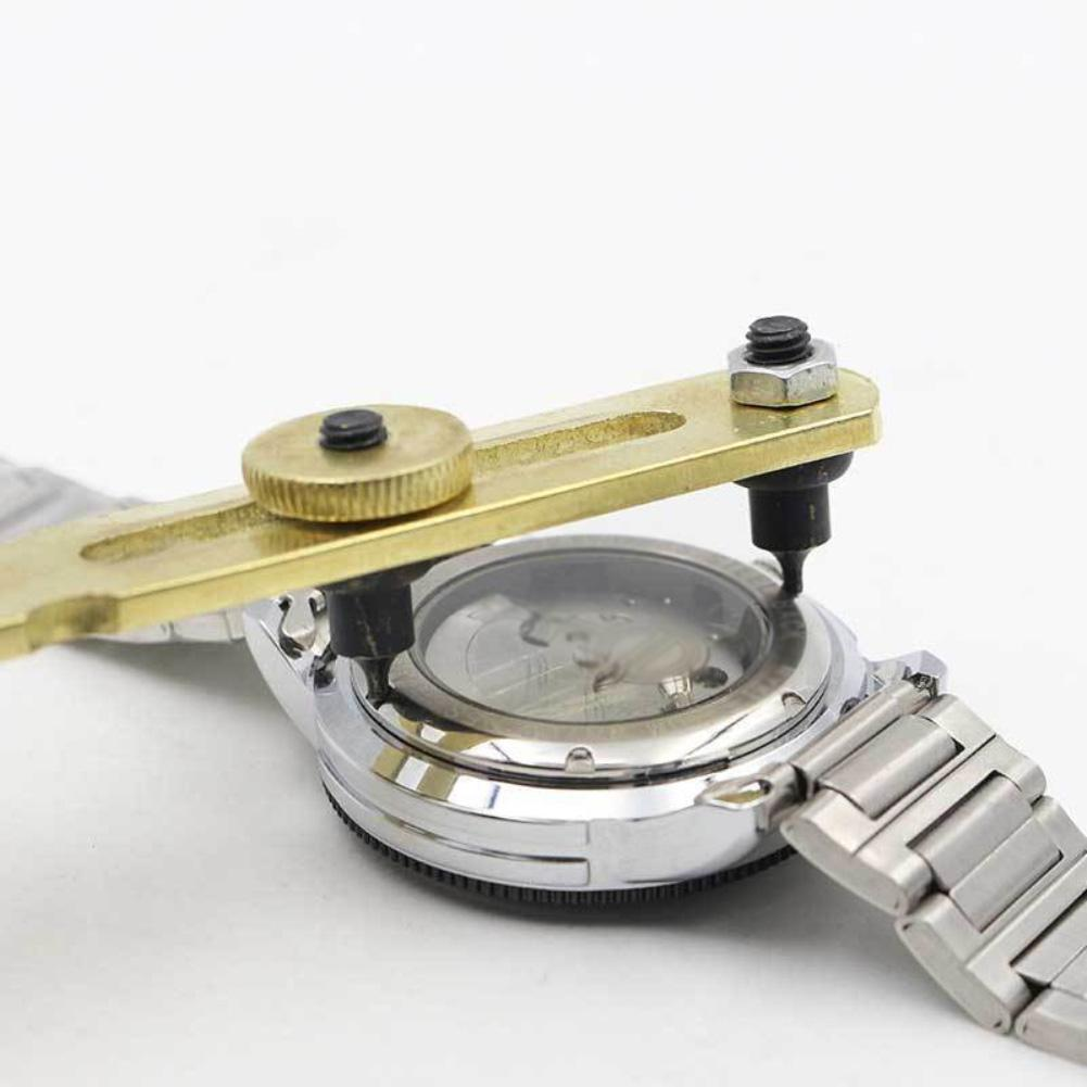 Watch Repair Tool Adjustable Watch Back Case Cover Remover Opener Repair Wrench Watchmaker Tool Clock/Watch Tool Watch Back Case