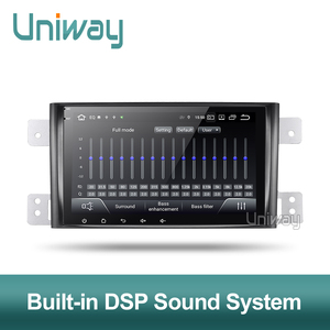 Image 5 - Uniway autoradio PX6 Android 9.0, DSP, 64 Bits, dvd, stéréo, gps, avec volant, pour suzuki grand 2006 2011 vitara