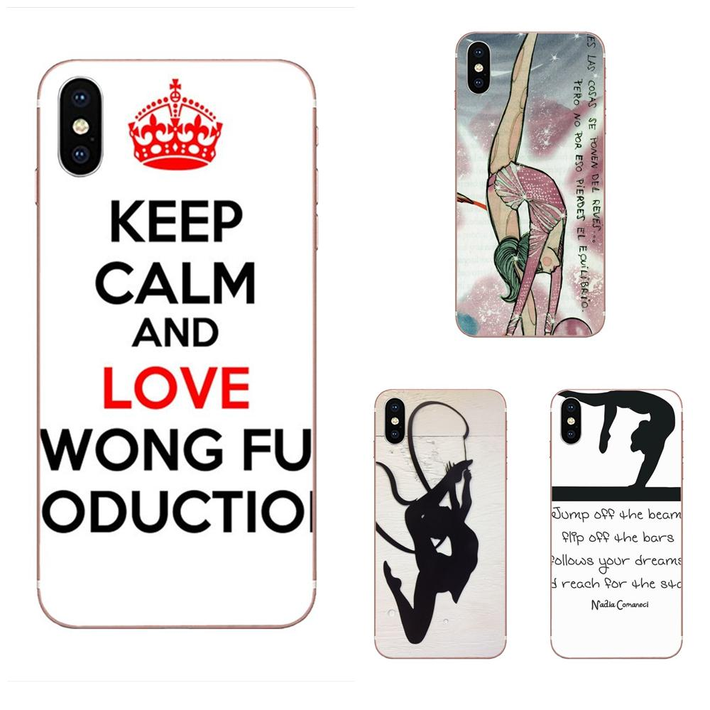 Sport <font><b>Gymnastic</b></font> Colorful Cute Soft Silicone TPU Transparent Covers Capa For Xiaomi Redmi Note 2 3 3S 4 4A 4X 5 5A 6 6A Pro Plus image