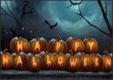Металлический жестяной винтажный Ретро Знак Счастливого Хэллоуина