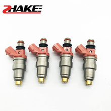 4X 23209-11050 23250-11050 Fuel Injector for Corolla General STARLET 1.3L 4EFE 89~98 COROLLA 1.5L 5EFE 91~01 Fuel Injector 10set fuel injector repair kits filter removal tool 23250 28080 23250 0h030 fit for toyota corolla camry 2 4l with free ship