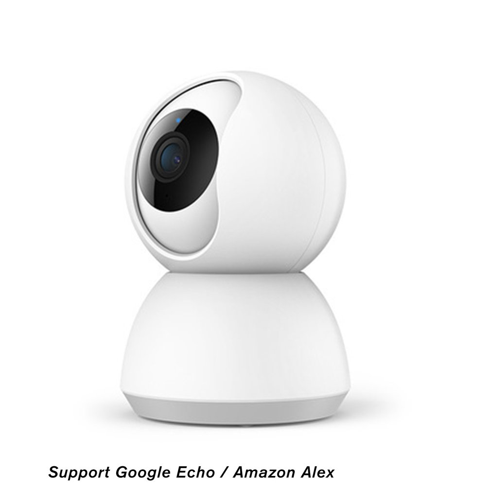 1080P HD IP Camera, WiFi Wireless Smart Camera TY-1080P-F4  / / / Home Security,Baby Monitor Home White
