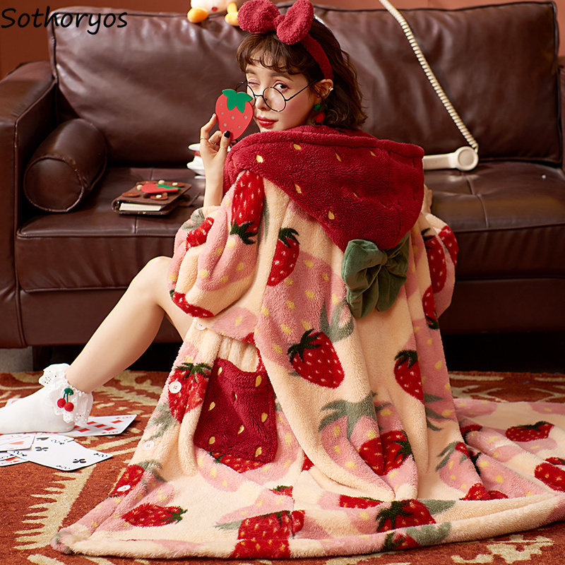 Kawaii Cozy Winter Nightgown