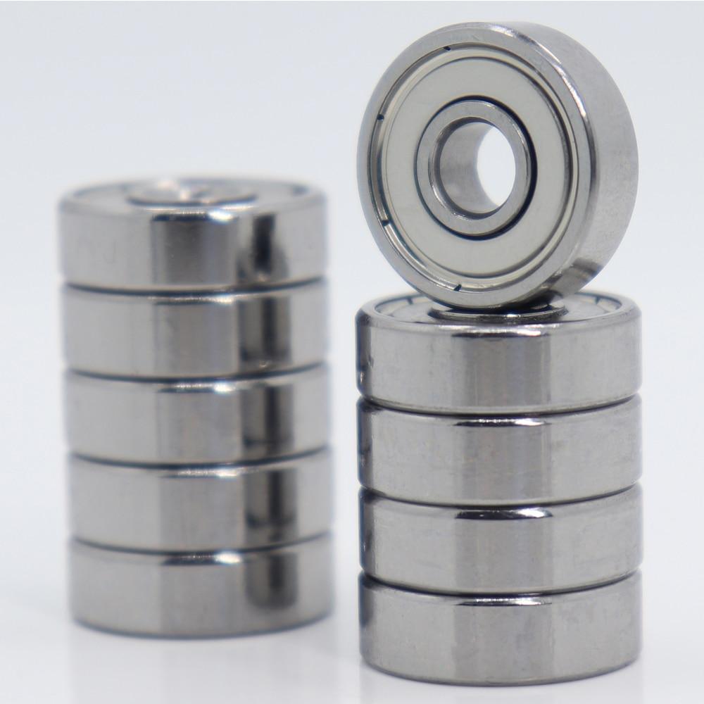 625ZZ Bearing 5*16*5 Mm ABEC-5 ( 10 PCS ) Miniature 625Z Ball Bearings 625 ZZ For VORON Mobius 2/3 3D Printer Makefr Rs CNC32