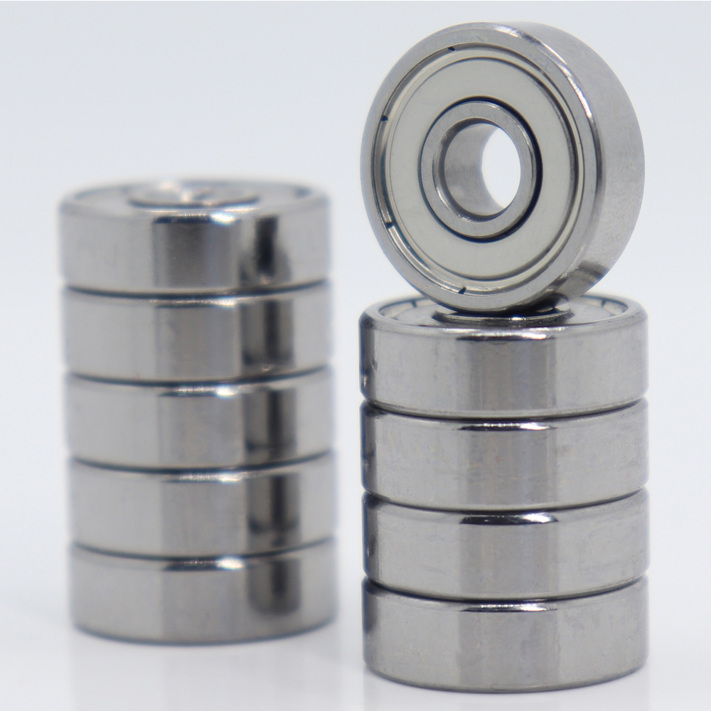 625ZZ <font><b>Bearing</b></font> 5*16*5 mm ABEC-5 ( 10 PCS ) Miniature 625Z Ball <font><b>Bearings</b></font> <font><b>625</b></font> ZZ For VORON Mobius 2/3 3D Printer Makefr <font><b>Rs</b></font> CNC32 image