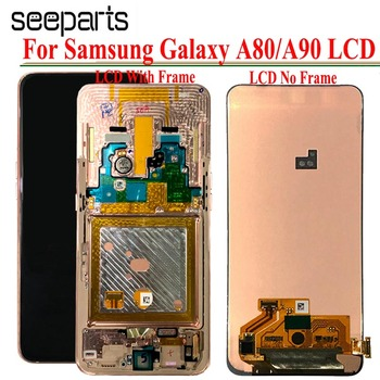 AMOLED lcd For Samsung galaxy A80 lcd Display Touch Screen Digitizer Assembly lcd for galaxy A90 A805 SM-A805F/DS A905F SM-A90