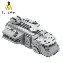 Buildmoc star plan space wars diy imperial-trexler maraudered modelo criativo compatível série star wars brinquedos para criança criança
