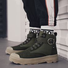 Spring & Autumn Men Boots Split Leather Casual Fahsion Ankle Outdoor Comfortable For Shoes