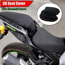 Z400 Mesh Seat Cover Cushion Guard Waterproof Insulation Breathable Net For Kawasaki Z 400 Motorcycle Accessories
