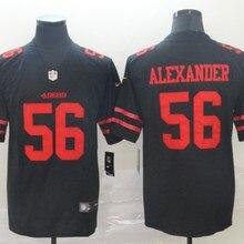 Мужская Джерси San Francisco 49ers Kwon alexer 56