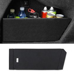 Tailgate storage for BMW F10 F20 F30 F48 G11 trunk store past sticker cover package case bottle finish car tail gate panel