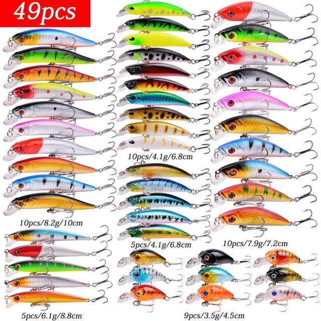 Mixed Fishing Lure Kits