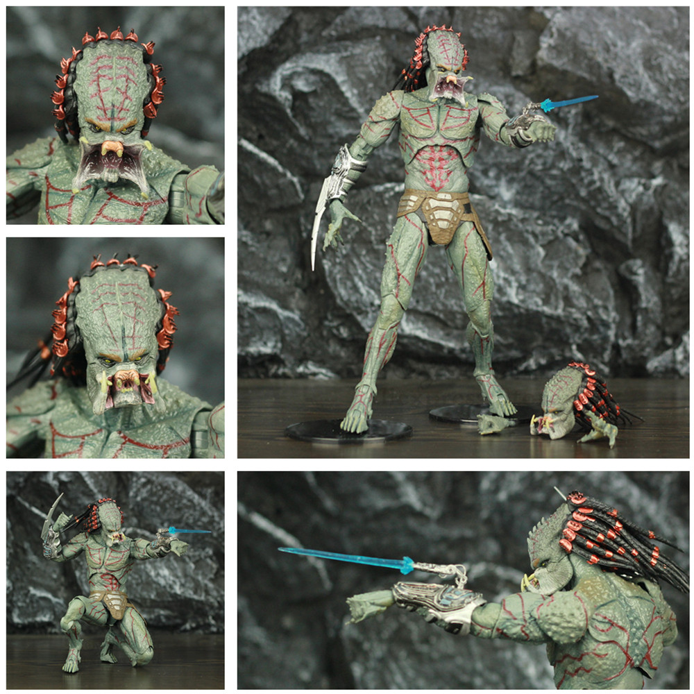 Neu Predator 2018 Deluxe Armored Assassin action figur neca